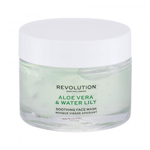 Revolution Skincare Aloe Vera & Water Lily 50 ml upokojujúca pleťová maska pre ženy
