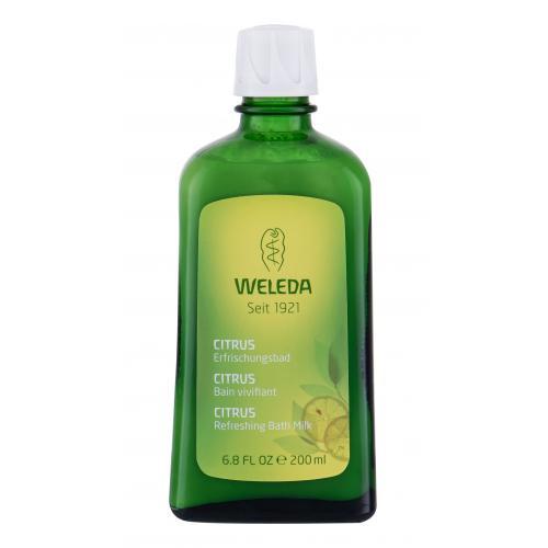 Weleda Citrus Bath Milk Refreshing 200 ml citrusový osviežujúci kúpeľ pre ženy