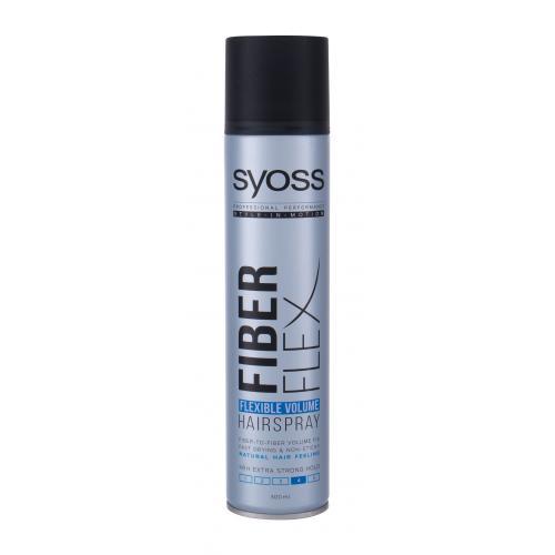Syoss Professional Performance Fiber Flex Flexible Volume 300 ml objemový lak na vlasy s extra silnou fixáciou pre ženy