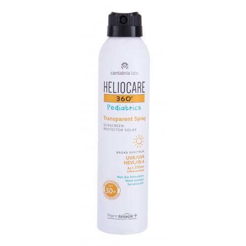 Heliocare 360 Pediatrics SPF50+ 200 ml ochranný sprej na citlivú detskú pokožku pre deti