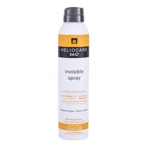 Heliocare 360° Invisible SPF50+ 200 ml ochranný opaľovací sprej na telo unisex