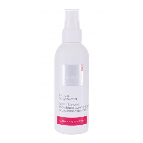 Ziaja Med Capillary Treatment Soothing 200 ml čistiace tonikum na pleť s rozšírenými žilkami pre ženy