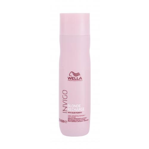 Wella Professionals Invigo Blonde Recharge 250 ml šampón na blond vlasy pre ženy Cool Blonde