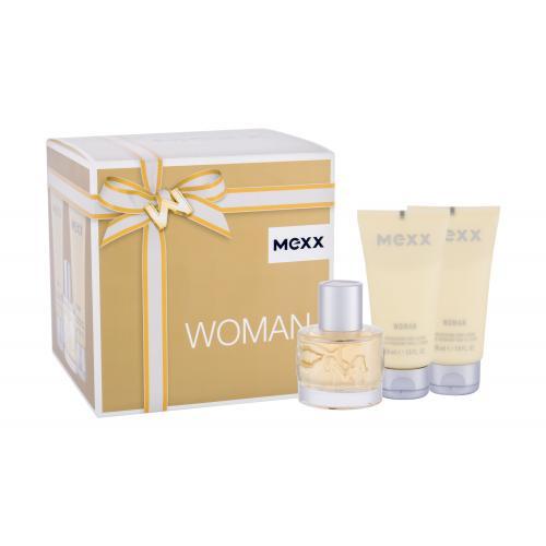Mexx Woman darčeková kazeta pre ženy Edt 40ml + 2x50ml tělové mléko