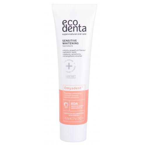 Ecodenta Toothpaste Omyadent 100 ml bieliaca pasta na citlivé zuby a ďasná unisex
