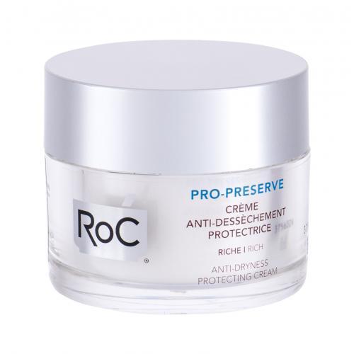 RoC Pro-Preserve Anti-Dryness 50 ml ochranný a hydratačný krém na suchú pleť pre ženy