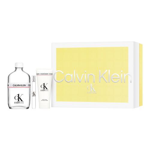 Calvin Klein CK Everyone darčeková kazeta unisex toaletná voda 100 ml + toaletná voda 10 ml + sprchovací gél 100 ml