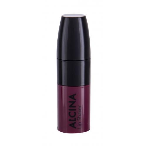 ALCINA Lip Shaker 5 ml farebný a vyživujúci balzam na pery pre ženy Blackberry