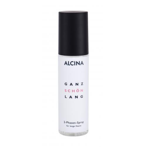 ALCINA Ganz Schön Lang 125 ml dvojfázový sprej na poškodené alebo suché dlhé vlasy pre ženy