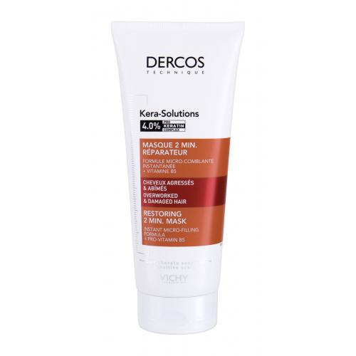 Vichy Dercos Kera-Solutions 2 Min. 200 ml maska na obnovu poškodených vlasov pre ženy