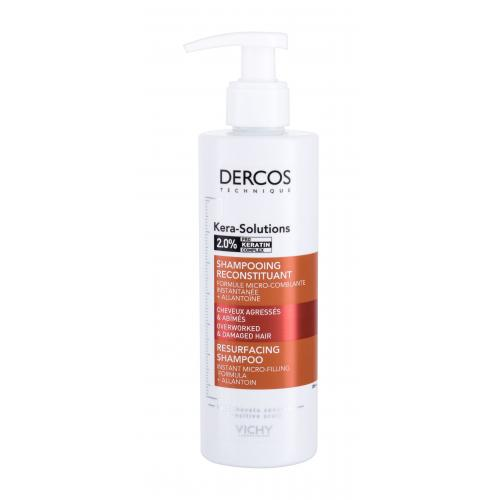 Vichy Dercos Kera-Solutions 250 ml šampón na obnovu poškodených vlasov pre ženy