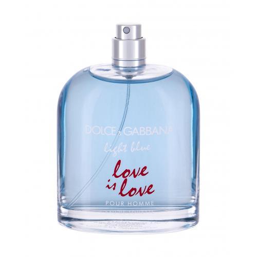 Dolce&Gabbana Light Blue Love Is Love 125 ml toaletná voda tester pre mužov