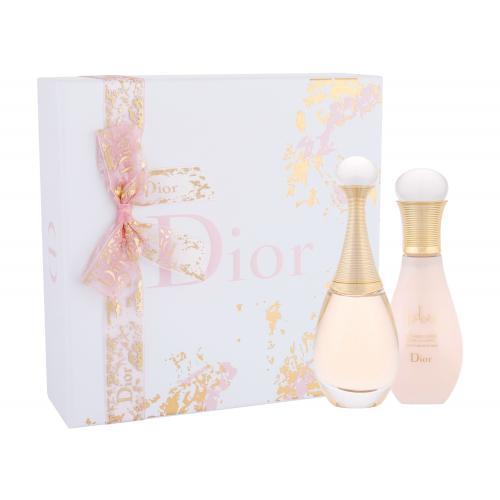 Christian Dior J´adore darčeková kazeta poškodená krabička pre ženy parfumovaná voda 50 ml + telové mlieko 75 ml