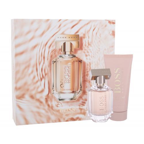 HUGO BOSS Boss The Scent For Her darčeková kazeta pre ženy parfumovaná voda 50 ml + telové mlieko 100 ml