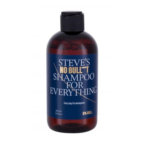 Steve´s No Bull***t Shampoo For Everything 250 ml šampón na vlasy a fúzy pre mužov