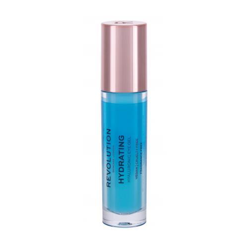Revolution Skincare Hydrating Hyaluronic 9 ml očný gél na výživu okolia očí pre ženy