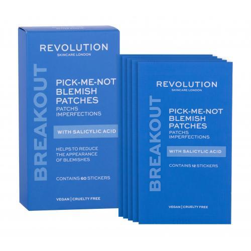 Revolution Skincare Pick-Me-Not Blemish Salicylic Acid 60 ks čistiace náplasti na problematickú pleť pre ženy