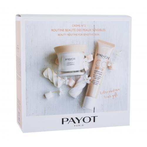 PAYOT Crème No2 Cachemire darčeková kazeta pre ženy denná pleťová starostlivosť 50 ml + cc krém 40 ml