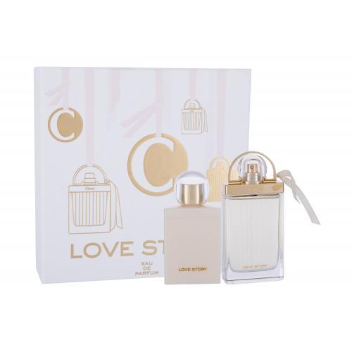 Chloé Love Story darčeková kazeta pre ženy parfumovaná voda 75 ml + telové mlieko 100 ml