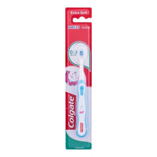 Colgate Kids Smiles Baby Extra Soft 0-3 1 ks zubná kefka pre deti od 0 do 3 rokov pre deti