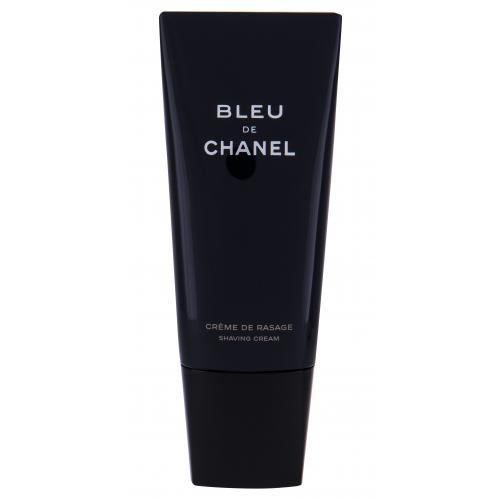 Chanel Bleu de Chanel 100 ml krém na holenie poškodená krabička pre mužov