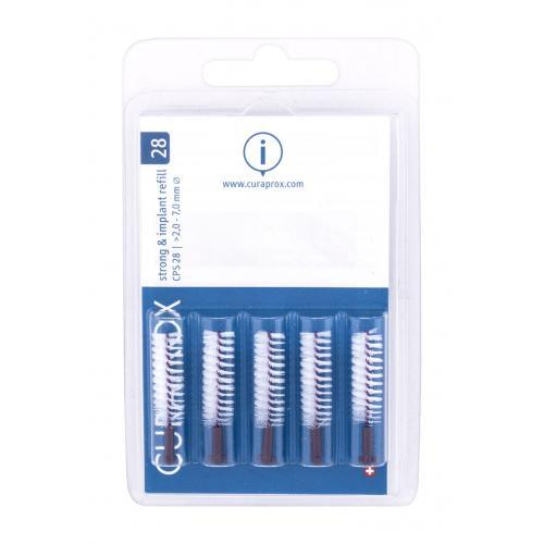 Curaprox Strong & Implant Refill 2,0 - 7,0 mm 5 ks náhradné medzizubné kefky. unisex