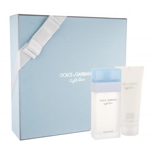 Dolce&Gabbana Light Blue 50 ml darčeková kazeta poškodená krabička pre ženy