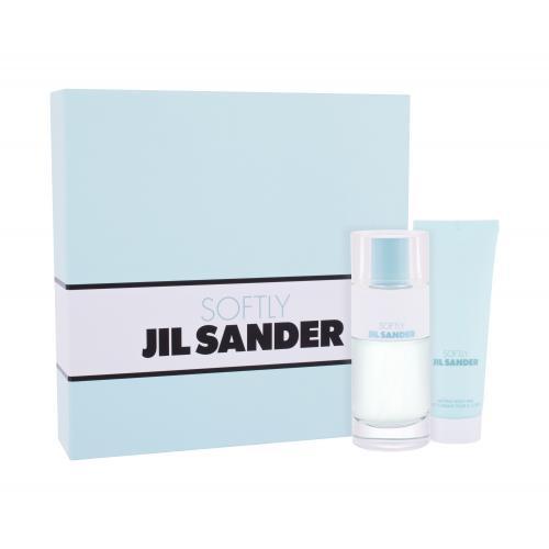 Jil Sander Softly darčeková kazeta pre ženy toaletná voda 80 ml + telové mlieko 75 ml