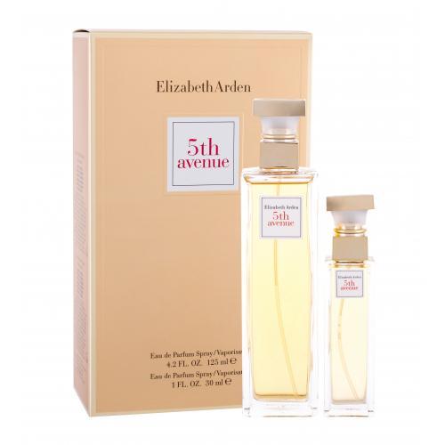 Elizabeth Arden 5th Avenue darčeková kazeta poškodená krabička pre ženy parfumovaná voda 125 ml + parfumovaná voda 30 ml