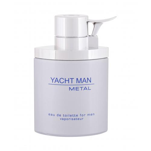 Myrurgia Yacht Man Metal 100 ml toaletná voda pre mužov