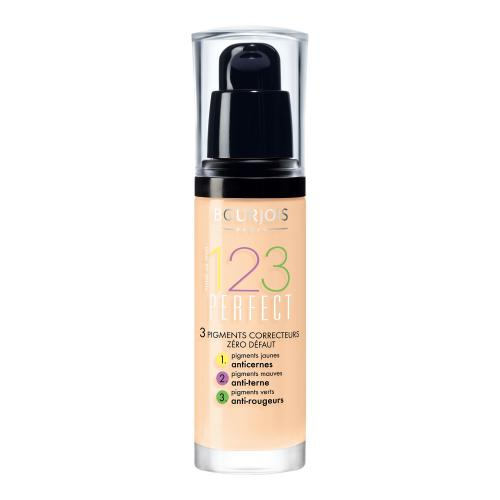 BOURJOIS Paris 123 Perfect 30 ml dlhotrvajúci make-up pre ženy 51 Light Vanilla