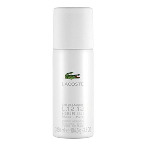 Lacoste Eau de Lacoste L.12.12 Blanc 150 ml dezodorant deospray pre mužov