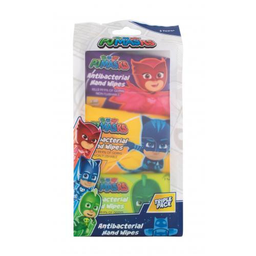 PJ Masks PJ Masks 30 ks antibakteriálne vlhčené utierky na ruky. pre deti