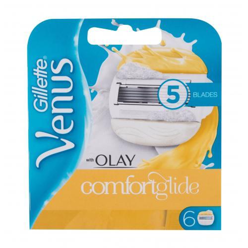 Gillette Venus & Olay Comfortglide 6 ks náhradné ostrie pre ženy