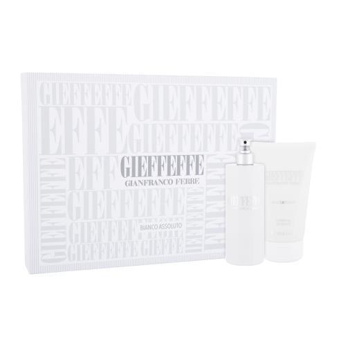 Gianfranco Ferré Gieffeffe Bianco Assoluto darčeková kazeta unisex toaletná voda 100 ml + sprchovací gél 100 ml
