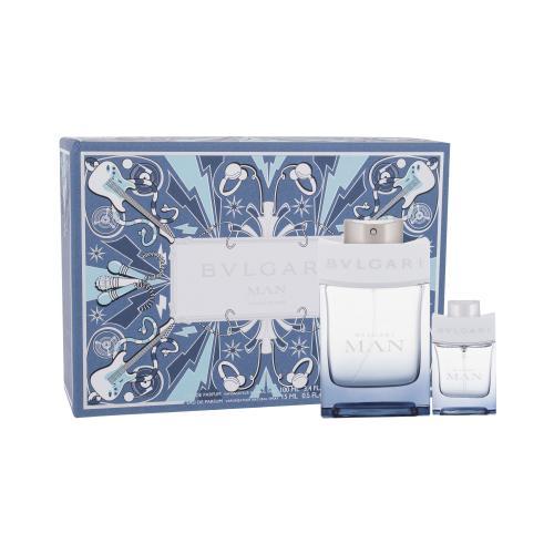 Bvlgari MAN Glacial Essence darčeková kazeta pre mužov parfumovaná voda 100 ml + parfumovaná voda 15 ml