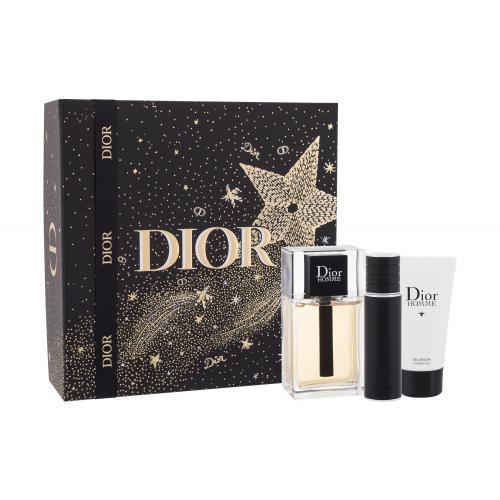 Christian Dior Dior Homme 2020 darčeková kazeta pre mužov toaletná voda 100 ml + sprchovací gél 50 ml + toaletná voda 10 ml