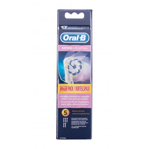 Oral-B Sensi UltraThin 5 ks náhradné hlavice na elektrickú zubnú kefku unisex