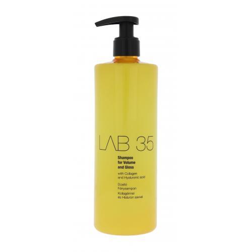 Kallos Cosmetics Lab 35 500 ml šampón pre jemné vlasy bez lesku pre ženy