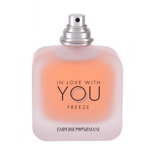 Giorgio Armani Emporio Armani In Love With You Freeze 100 ml parfumovaná voda tester poškodený flakón pre ženy