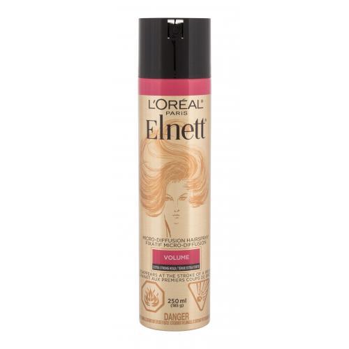 L´Oréal Paris Elnett Volume Micro-Diffusion 250 ml lak na vlasy pre objem pre ženy