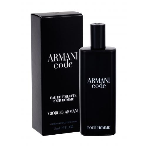 Giorgio Armani Code 15 ml toaletná voda poškodená krabička pre mužov