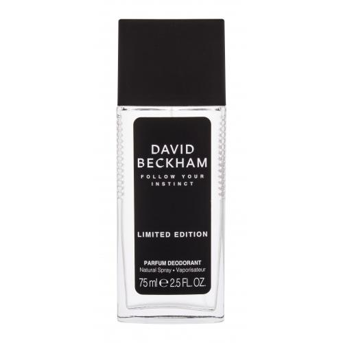 David Beckham Follow Your Instinct 75 ml dezodorant v skle pre mužov