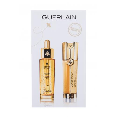 Guerlain Abeille Royale Ultimate Age-Defying Duo darčeková kazeta poškodená krabička proti vráskam pre ženy pleťové sérum Abeille Royale Double R Renew  Repair Serum 50 ml  pleťový olej Abeille Royale Youth Watery Oil 50 ml