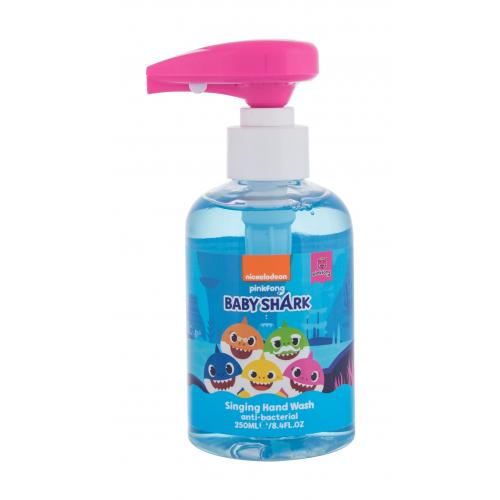 Pinkfong Baby Shark Anti-Bacterial Singing Hand Wash 250 ml spievajúce antibakteriálne mydlo na ruky pre deti