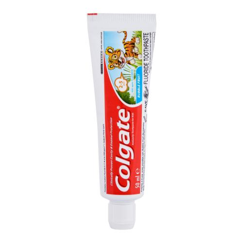 Colgate Kids Bubble Fruit 2-5 50 ml zubná pasta pre deti od 2 do 5 rokov pre deti