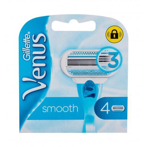 Gillette Venus Smooth 4 ks náhradné ostrie pre ženy