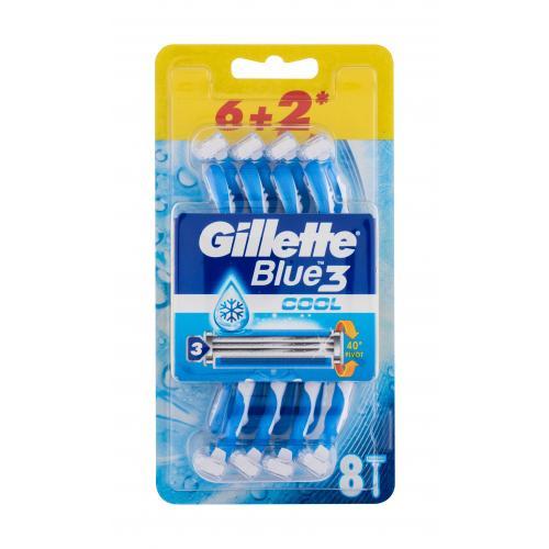 Gillette Blue3 Cool 8 ks jednorázová žiletka pre mužov