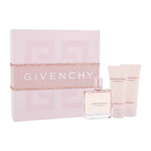 Givenchy Irresistible darčeková kazeta pre ženy parfumovaná voda 80 ml + telové mlieko 75 ml + sprchovací olej 75 ml