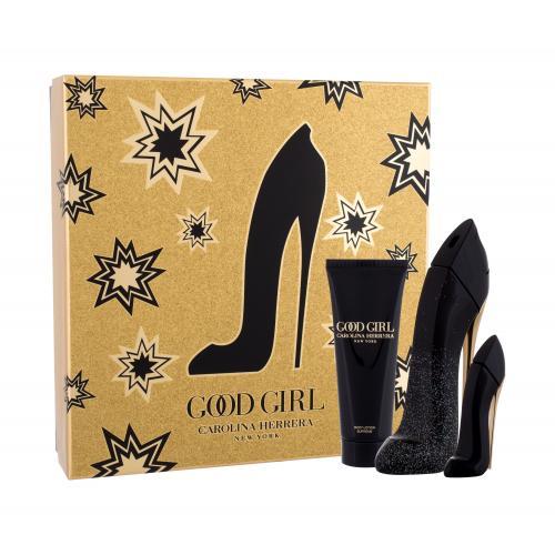 Carolina Herrera Good Girl Suprême darčeková kazeta pre ženy parfumovaná voda 50 ml + telové mlieko 75 ml + parfumovaná voda 7 ml